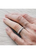 Sea Grass Ring in Silver