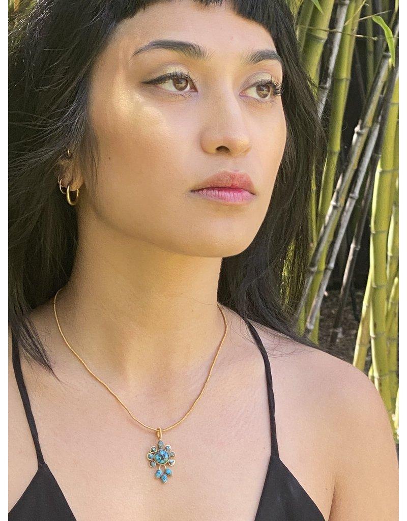 Rose of Samarkand Turqoise Persian Necklace