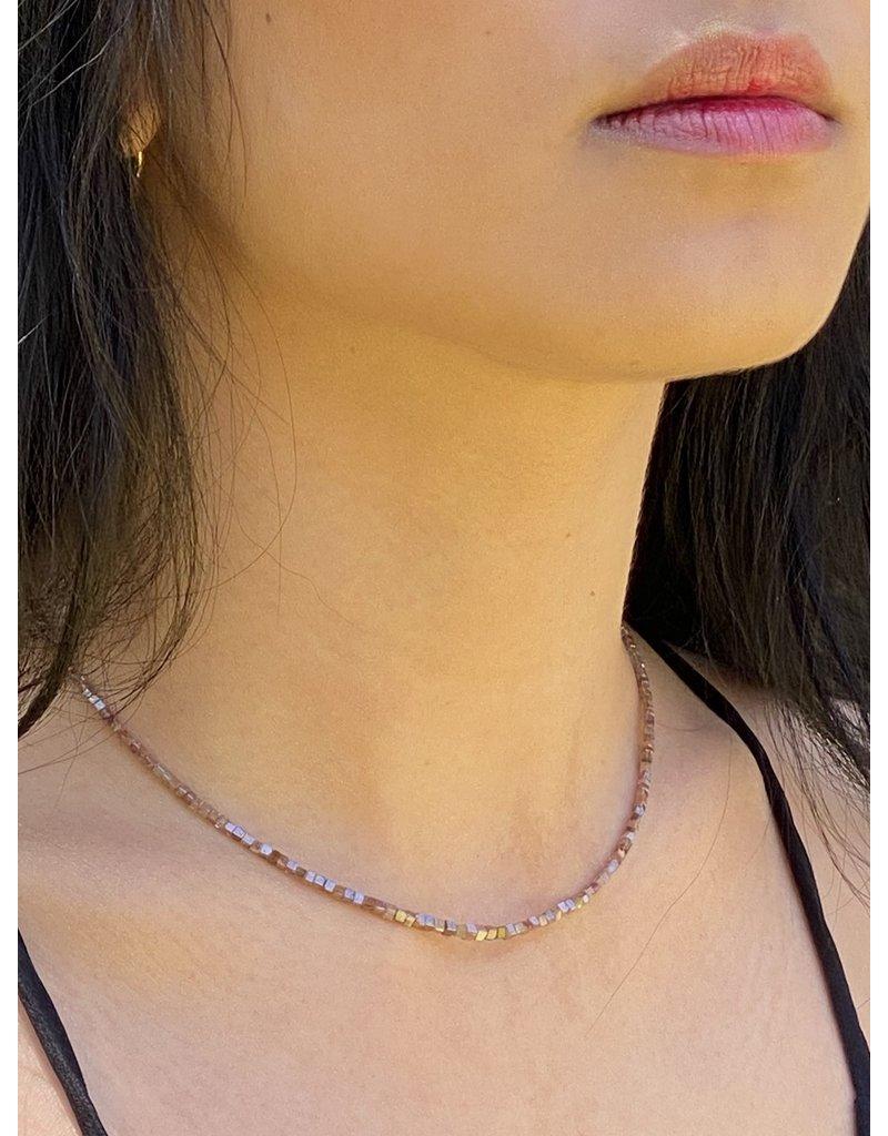 Cognac Diamond Necklace