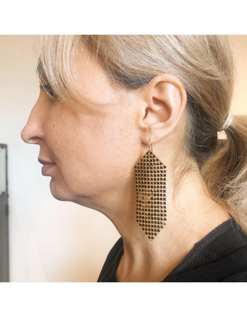 Maral Rapp Wabi Sabi Mesh Earrings - Large