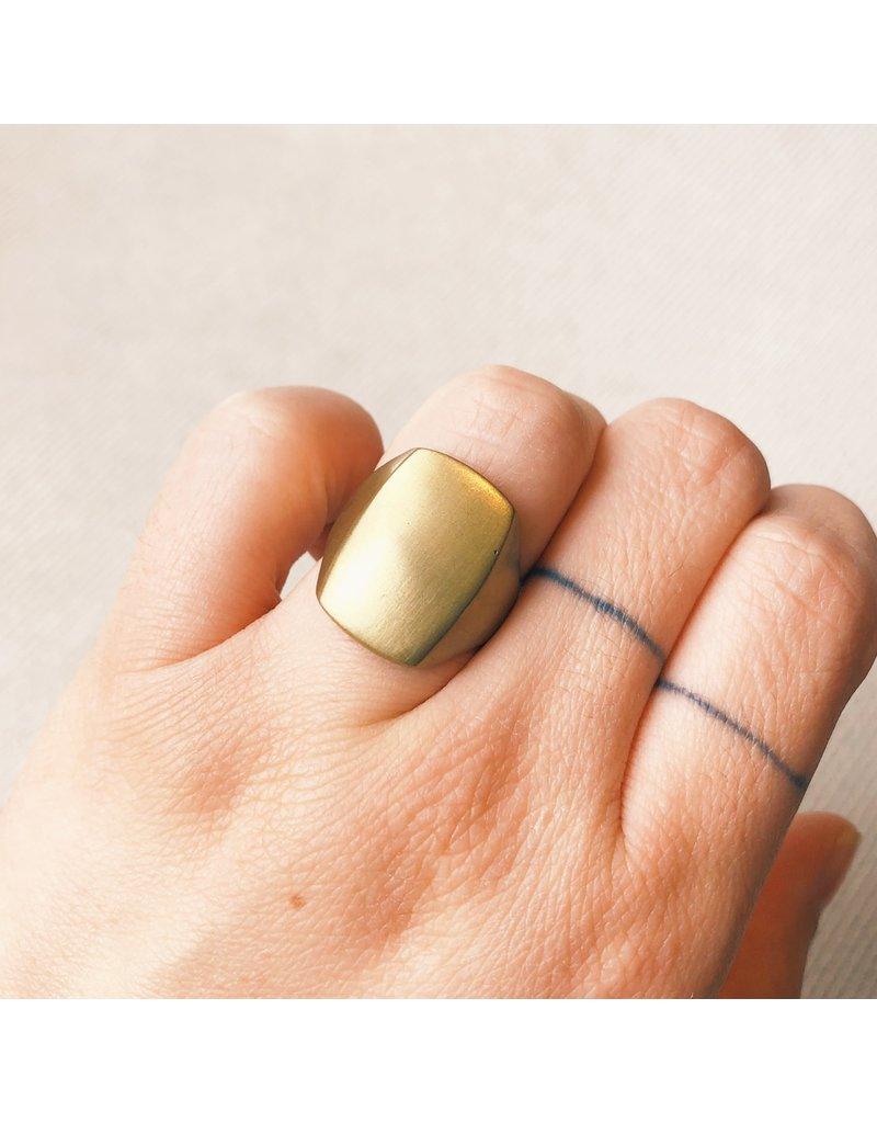 Box Ring in Bronze