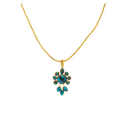 Rose of Samarkand Turqoise Persian Necklace