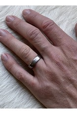 7mm plain finger shaped