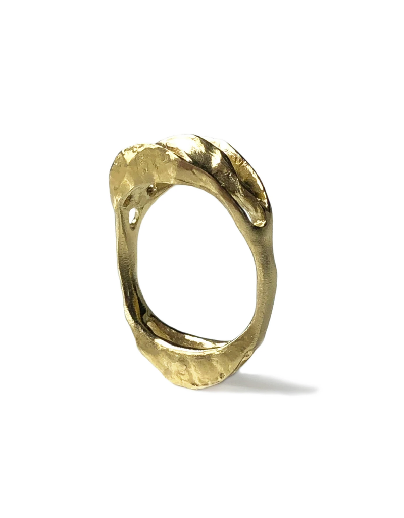 Perspectives Ring in Yellow Bronze
