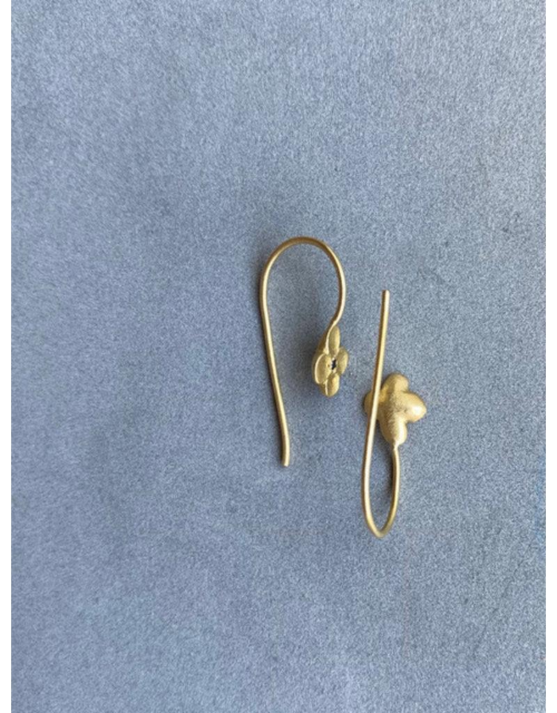 Romy Earrings in 18k Yellow Gold