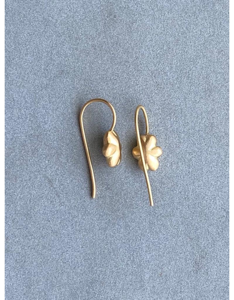 Cloud Earrings in 18k Yellow Gold