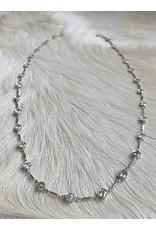 Custom Diamond Chain Necklace in Platinum