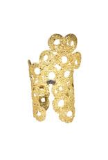 Gold Cuff Bracelet in 18k