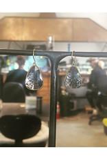 Diamond Slice Earrings in 22k/18k Yellow Gold