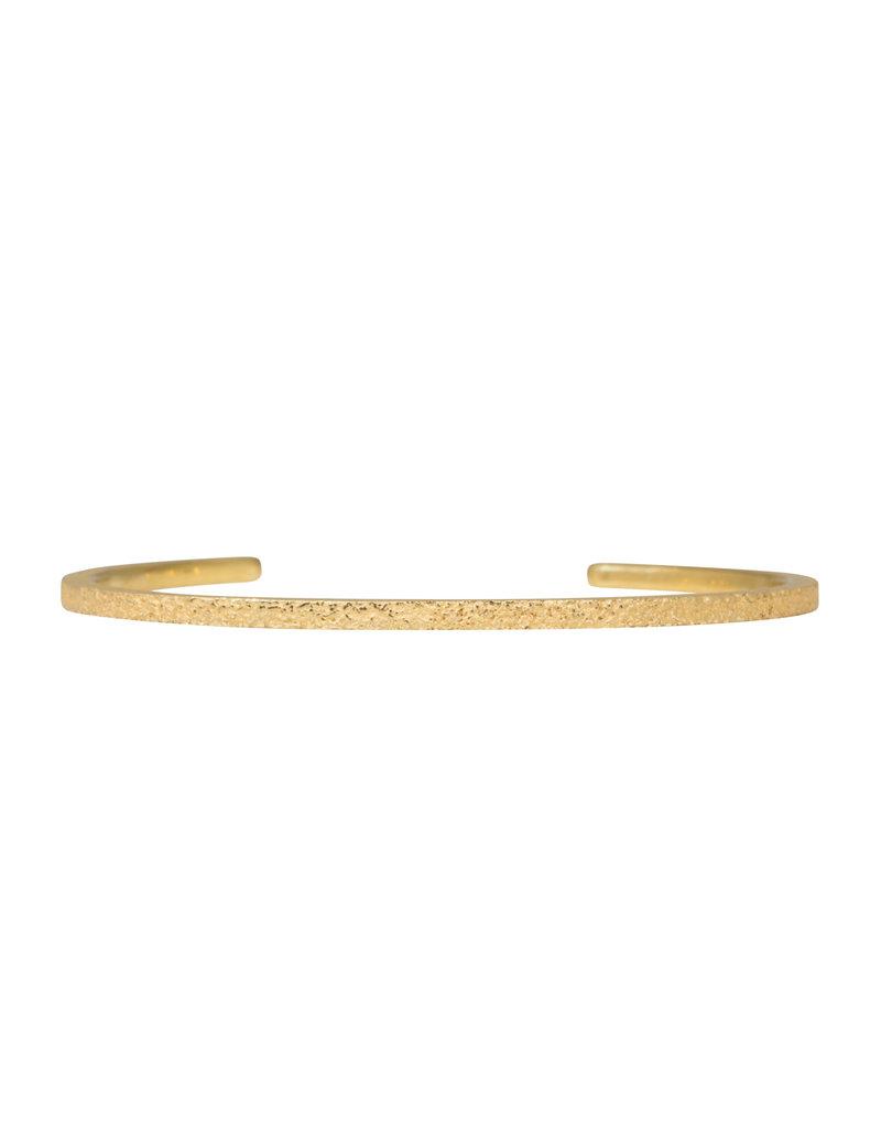 Sand Cuff Bracelet in 18k Yellow Gold