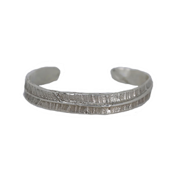 Alexis Pavlantos Philo Leaf Cuff in Silver
