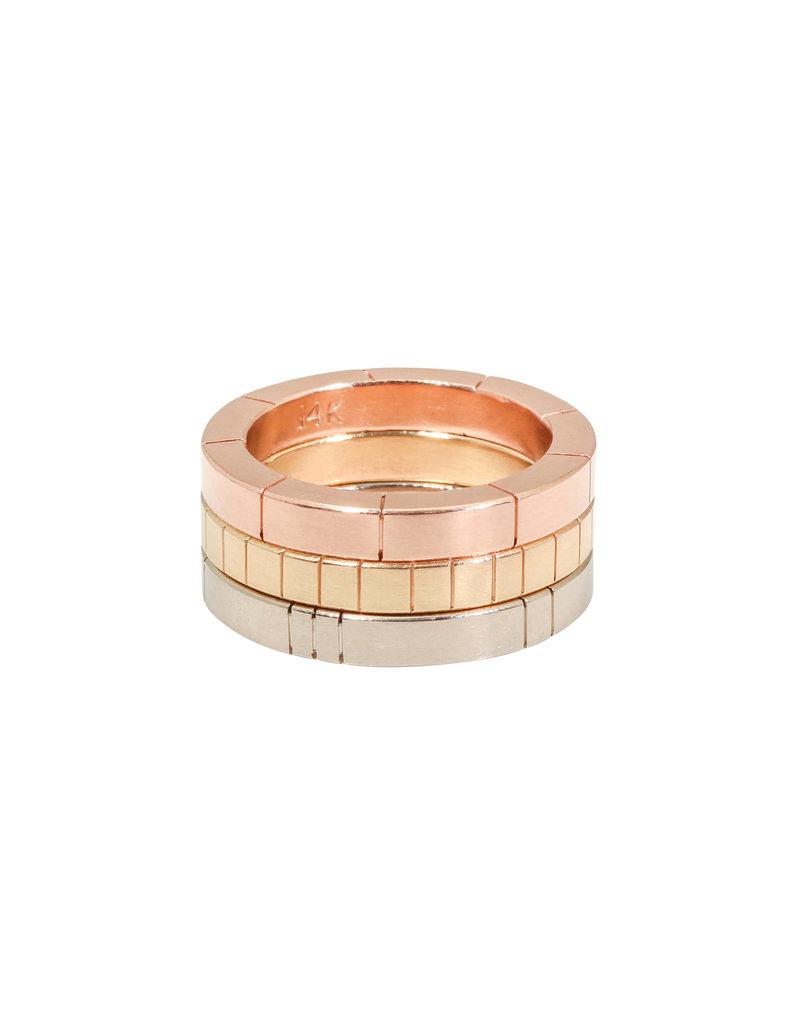 Trevi Pendro Moonlight Ring in 14k White Gold