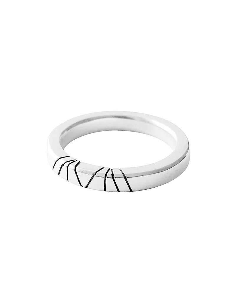 Trevi Pendro Cambium Ring 1 in Silver