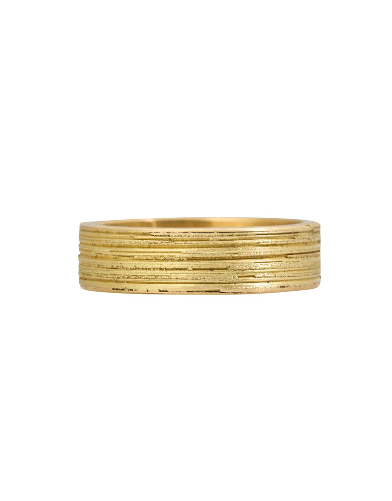 Marian Maurer Concrete Band in 18k Yellow Gold