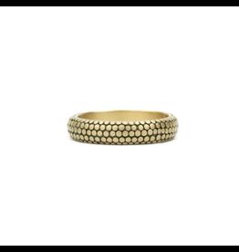 Marian Maurer Dot Band in 18k Yellow Gold