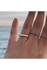 Trevi Pendro Sunrise Ring in 14k Yellow Gold