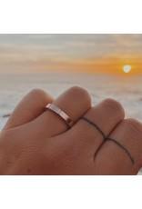 Trevi Pendro Beam Ring in 14k Rose Gold