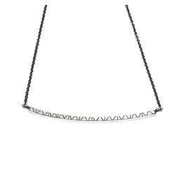 Trevi Pendro Branch Necklace in Silver