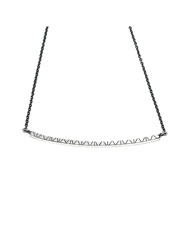 Trevi Pendro Branch Necklace in Silver