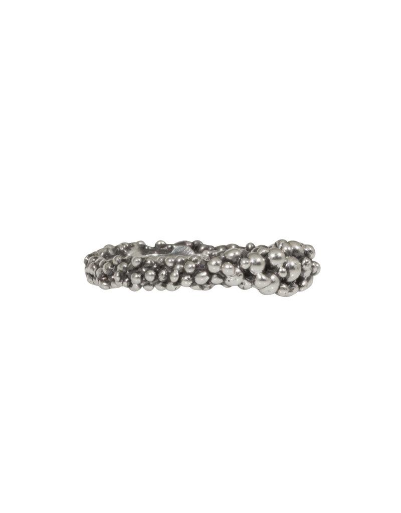 Hannah Alexandra Foam Ring in Oxidized Silver