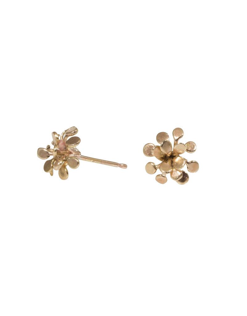 Hannah Alexandra Blum Mini Post Earrings in 10k Gold
