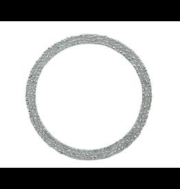 Alexis Pavlantos Ichos Snake Texture Bangle Bracelet in Silver