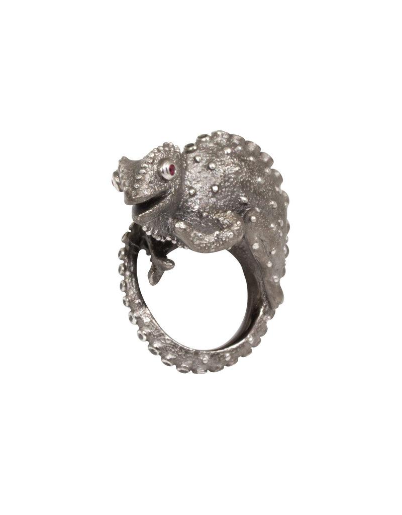 Manya & Roumen Chameleon Ring in Silver