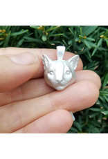 Manya & Roumen Cat Head Charm