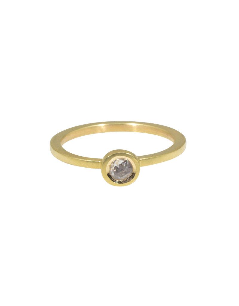 Rosecut Diamond Ring in 18k Gold