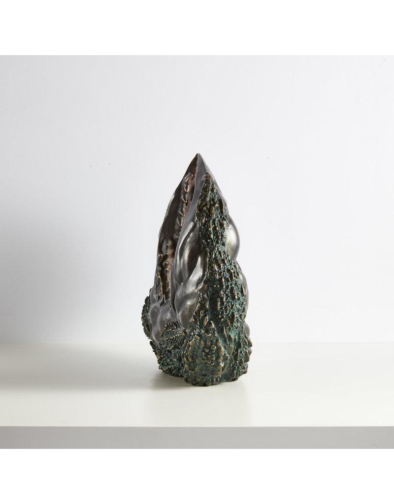 Crescent Sculpture in Bronze