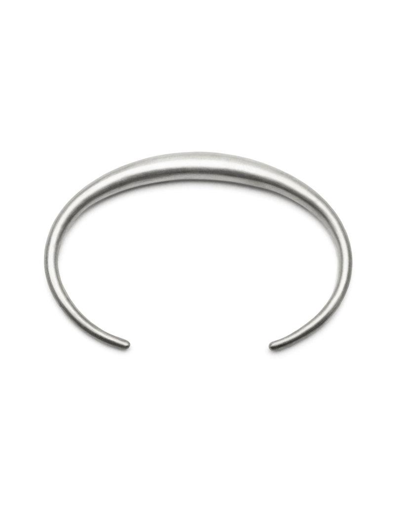 Olivia Shih Curve Cuff in Silver