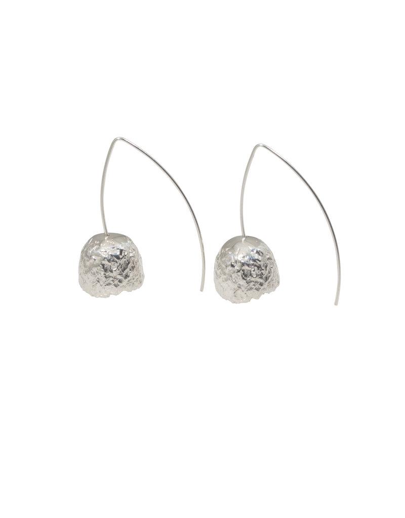 Capule Earrings in Silver