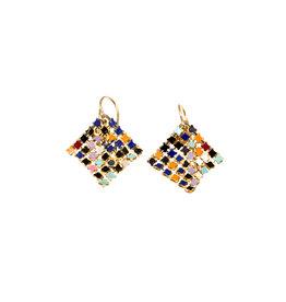 Maral Rapp Small Confetti Color Earrings