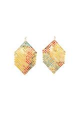 Maral Rapp Bright Colors Gestural Earrings