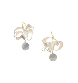 Judy Geib Tangled Earrings in Silver