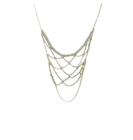 Web Necklace in Stainless Steel