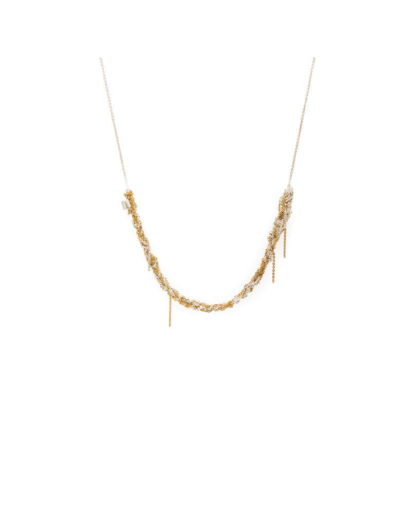 Thick Skinny Necklace in 18k Gold Vermeil