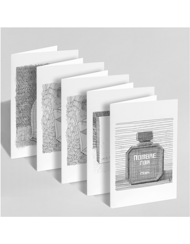 Lost Perfumes: Set of 5 Cards