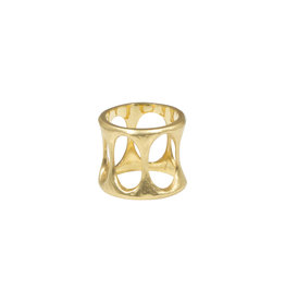 Lisa Ziff Chanda Ring in 18k Yellow Gold