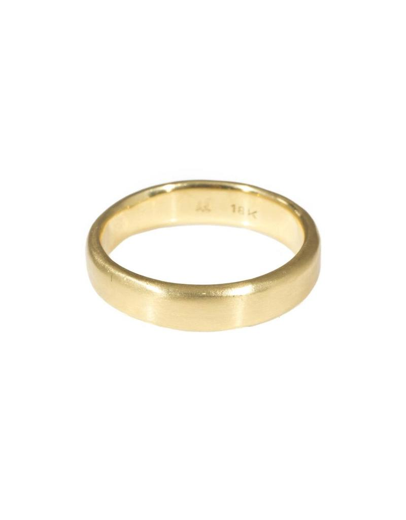 5mm Modeled Band in 18k Yellow Gold