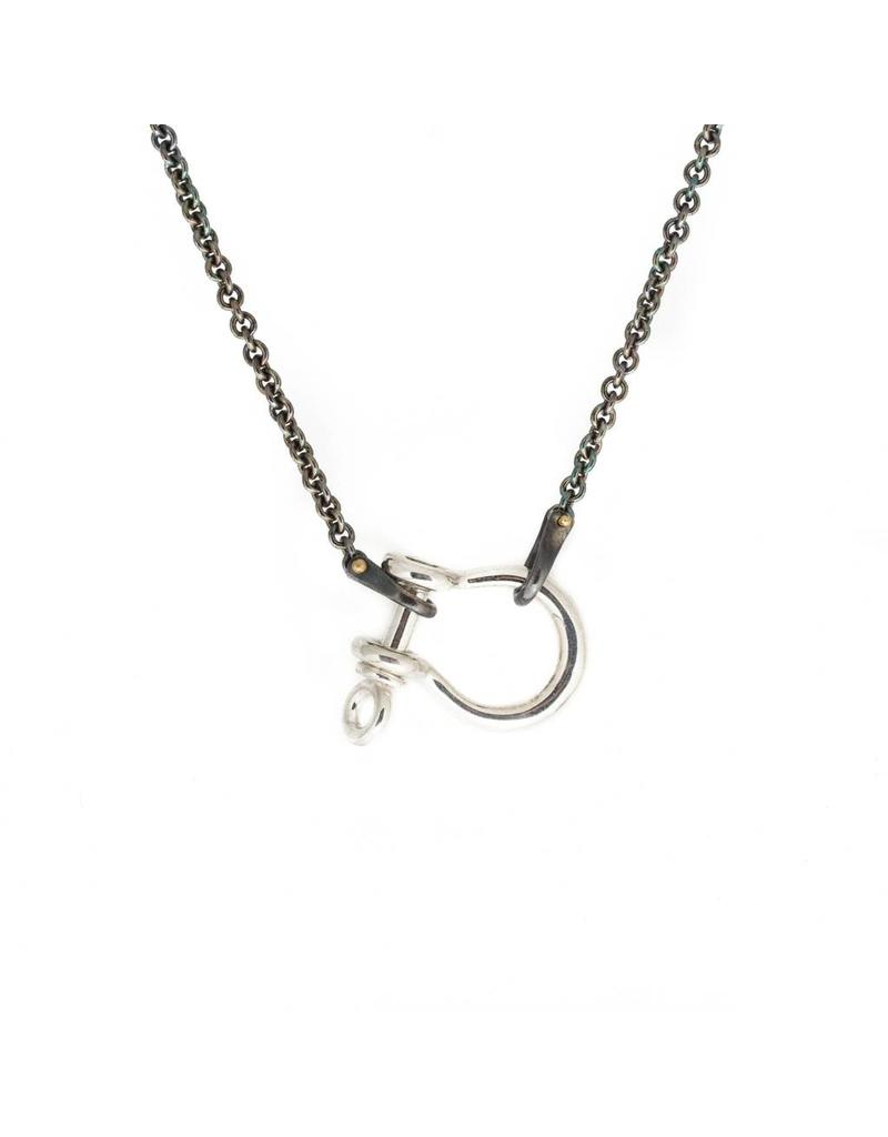 Large Shackle Necklace