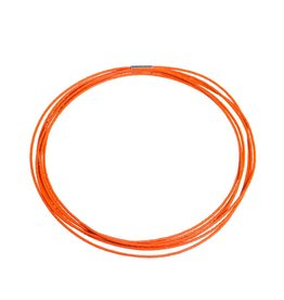 Pumpkin Sweep Necklace in Orange