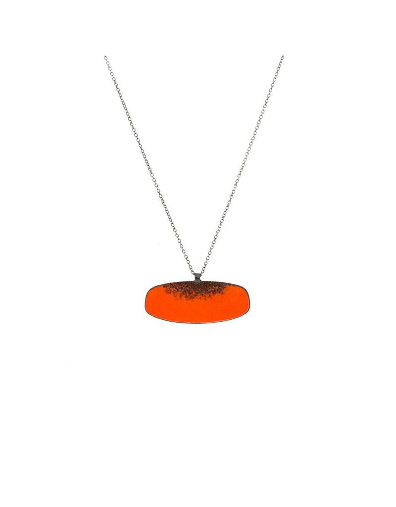 Hive Necklace #5 (Mars) in Red