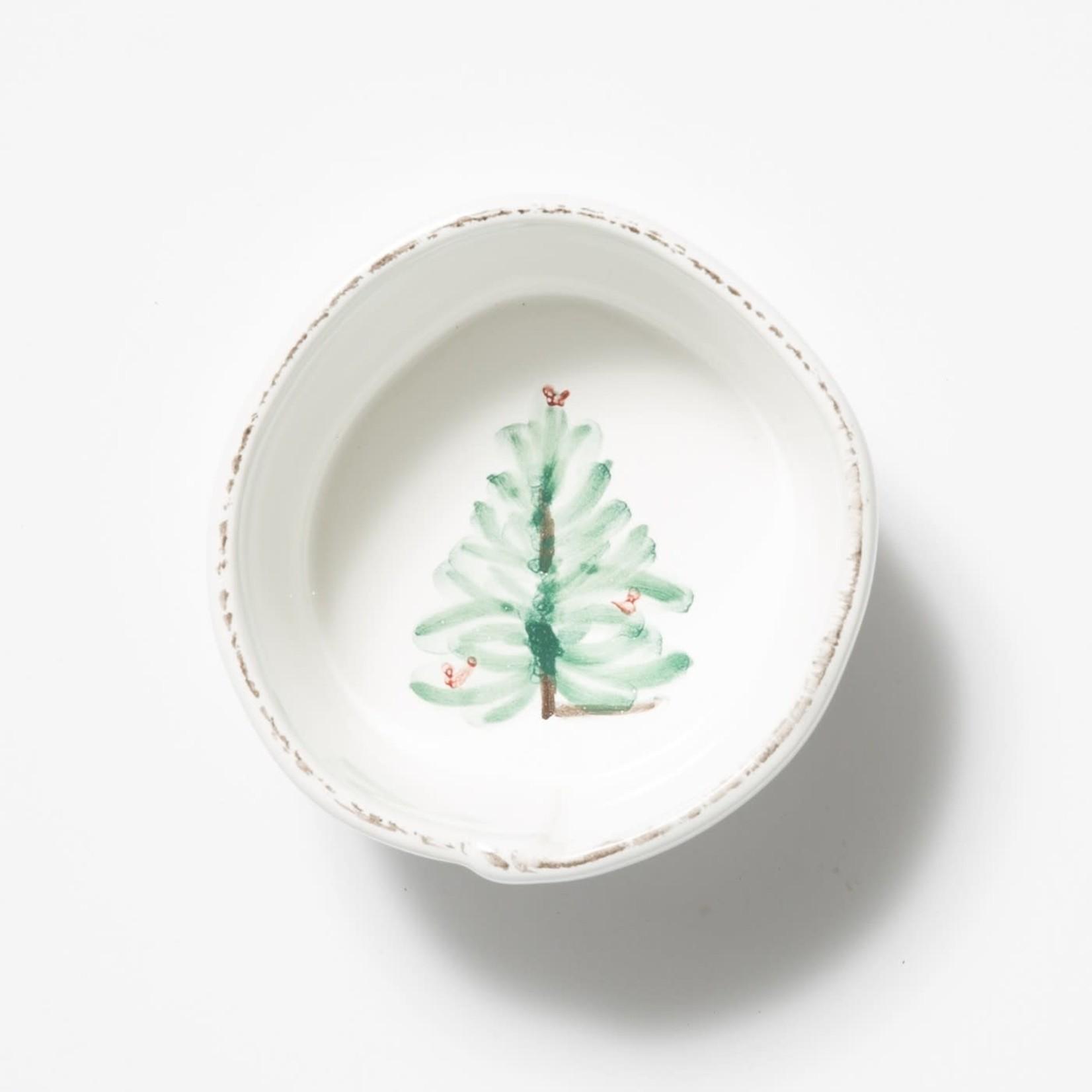 Lastra Holiday Condiment Bowl