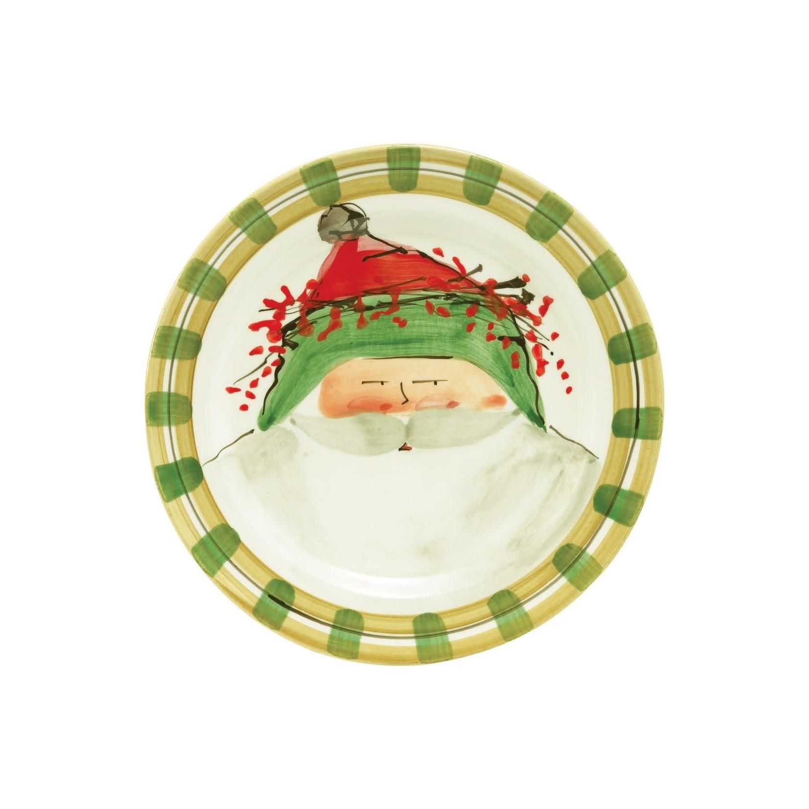 OSN Round Salad Plate Green