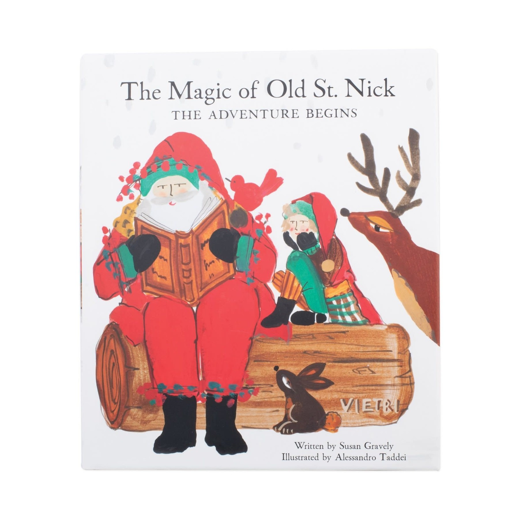 The Magic of Old St. Nick The Adventure Begins