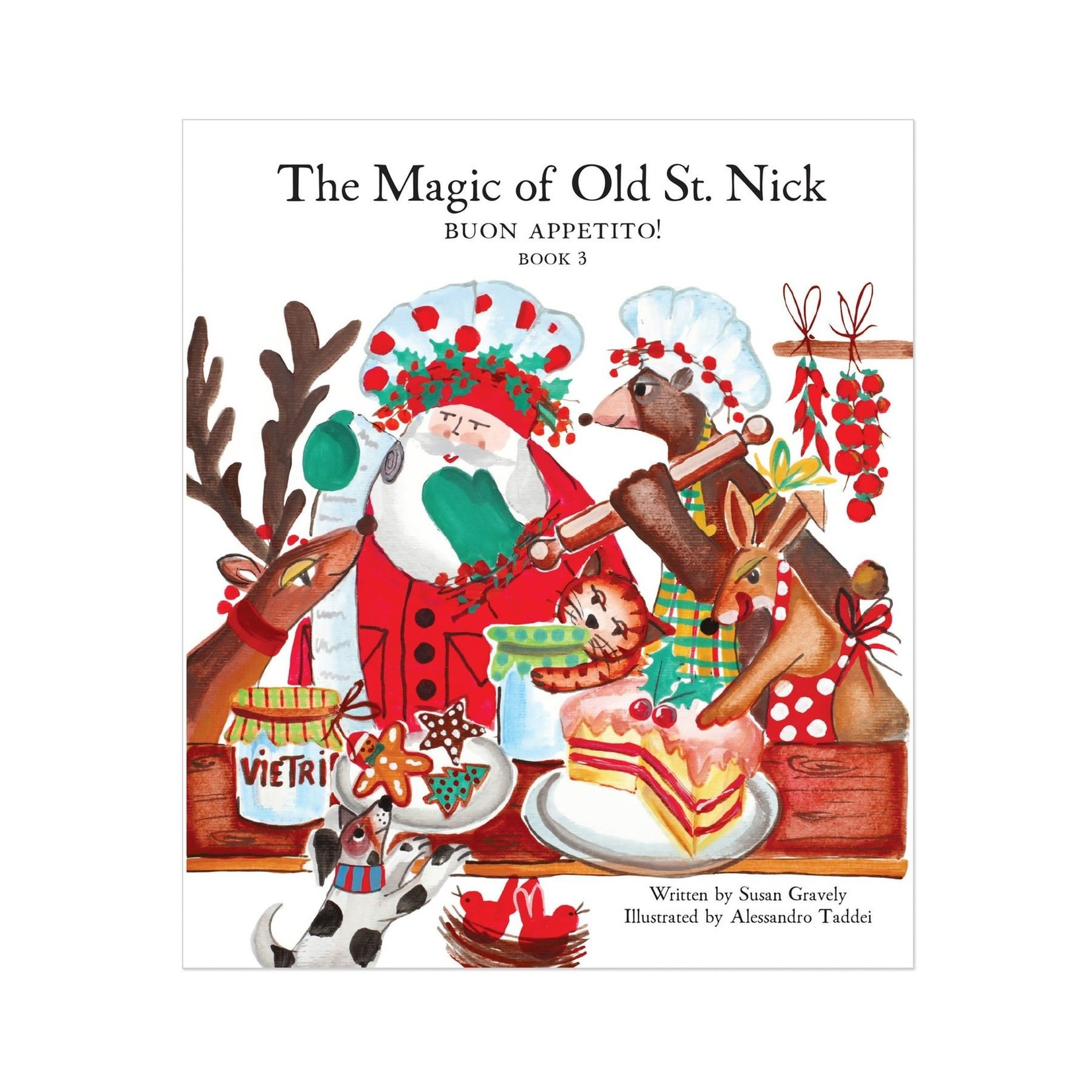 The Magic of Old St. Nick Buon Appetito
