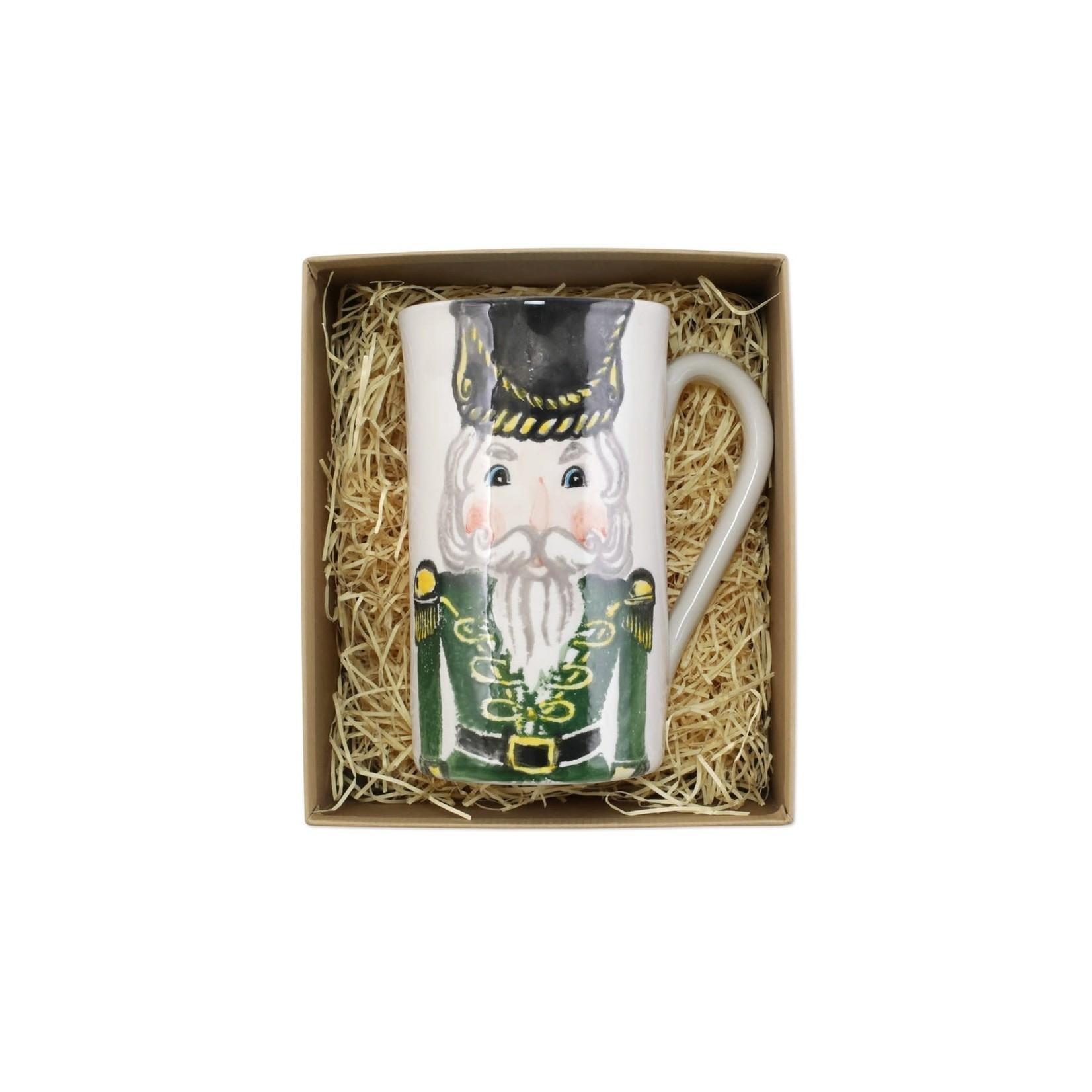 Nutcracker Latte Mug w/ Soldier
