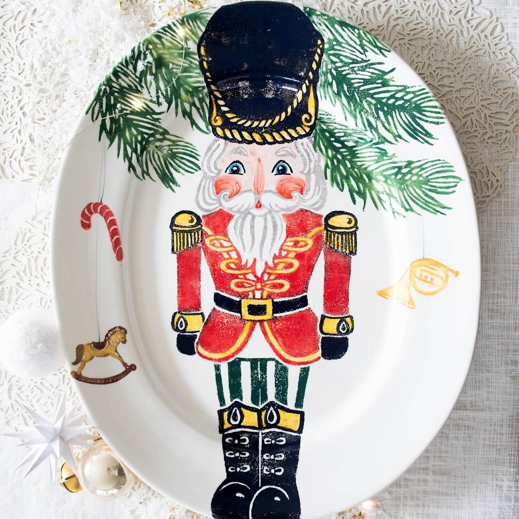 Nutcracker Lg Oval Platter