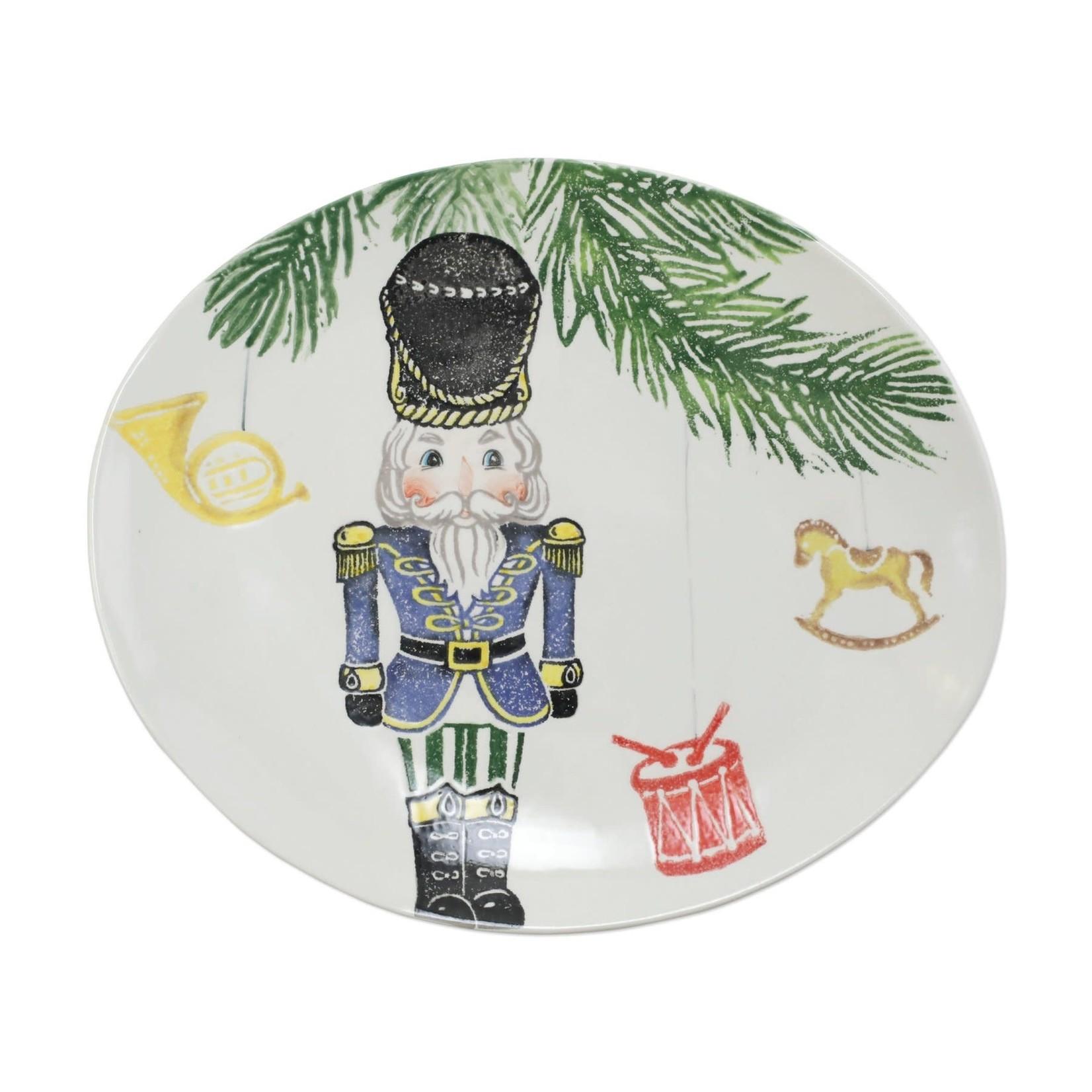 Nutcracker Medium Oval Platter